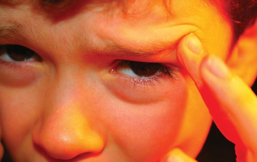 Migrena kod dece
